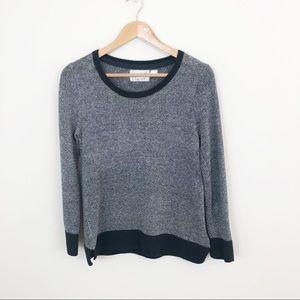 Anthro Field Flower Crewneck Sweater